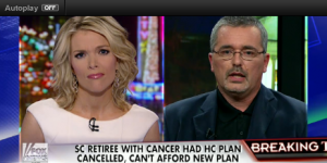 South Carolina Retiree, Bill Elliot, cancer pt. cancelled by Obamacare