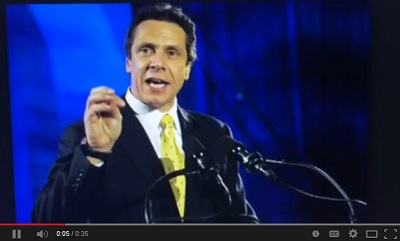 Governor Andrew Cuomo says Right to Life people are not welcome in New York