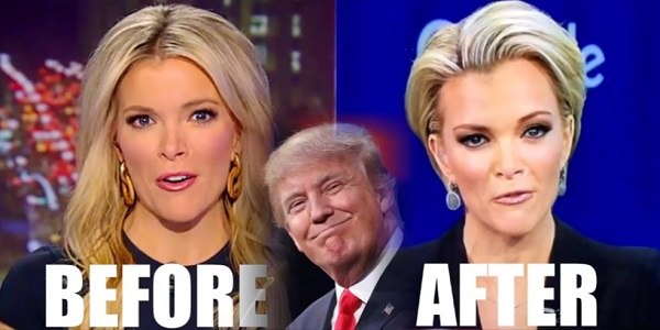 Trump transforms Megyn Kelley sm
